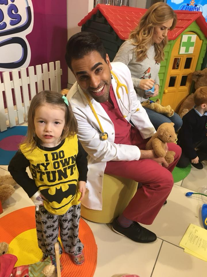 Edie with Dr Ranj
