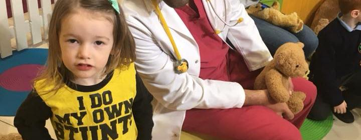 Edie with Dr Ranj