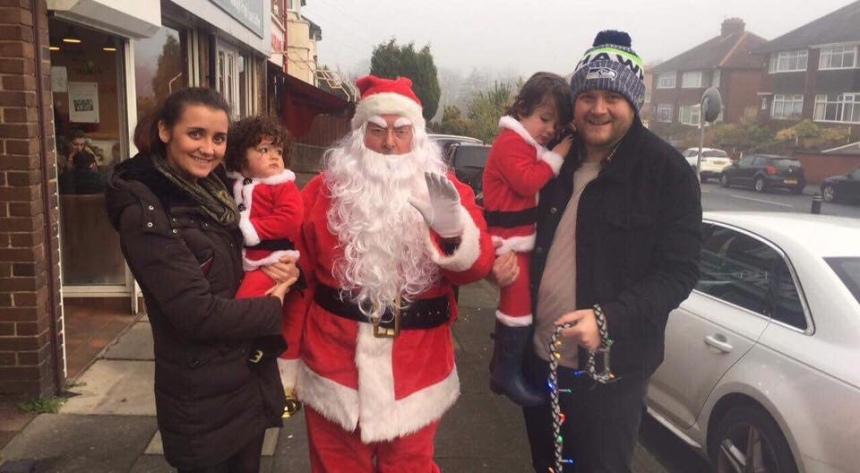 Meeting Santa!