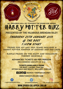 Harry Potter Quiz Poster
