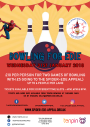 Bowling for Edie event poster