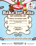 Bake for Edie - writable poster