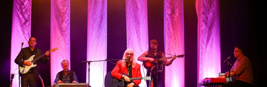 Charlie Landsborough and his band