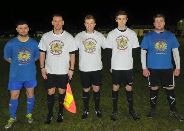 Captains and Refs