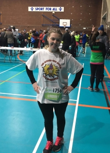 Lindsey before Chester 10k