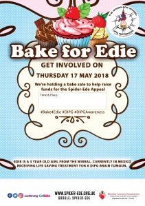 Bake4Edie Poster