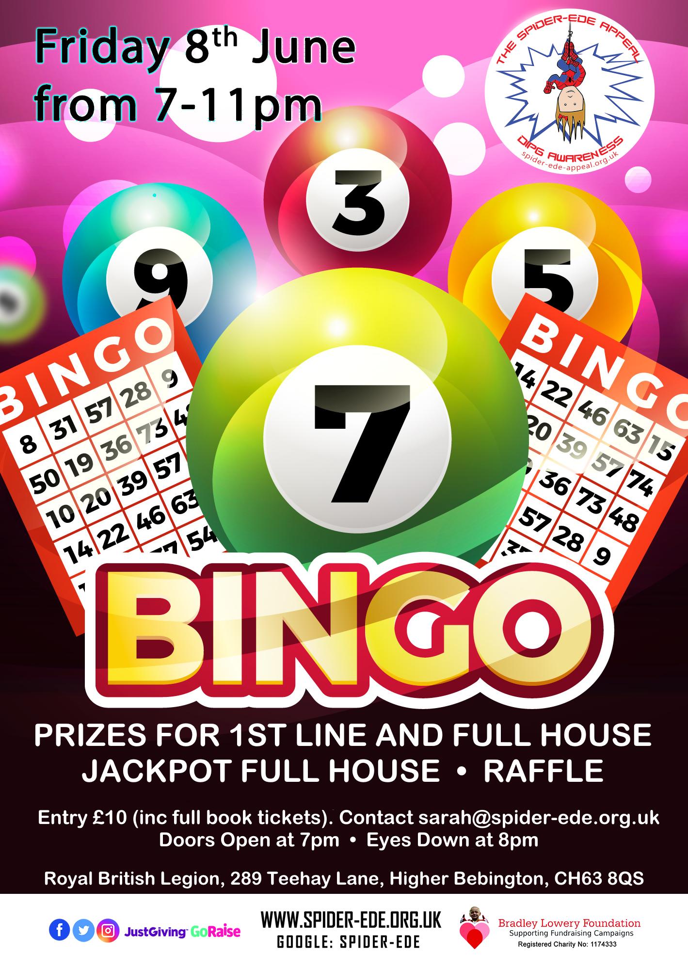 Bingo Night, 08 June