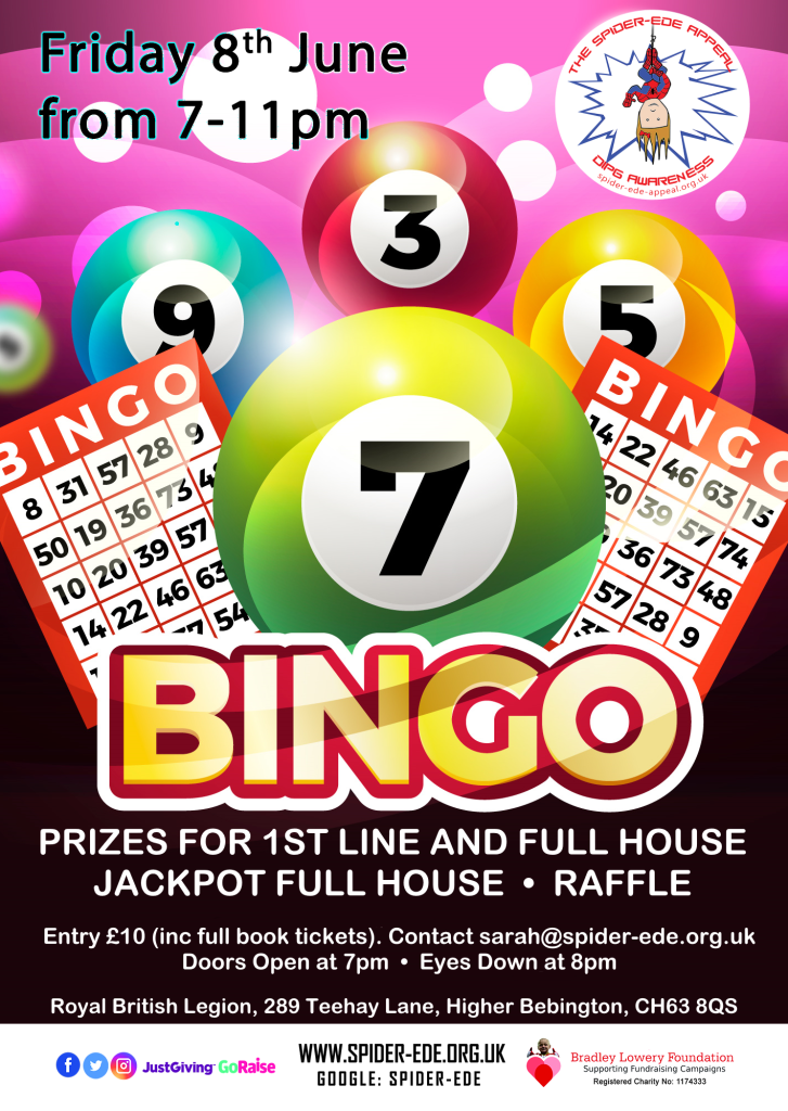 Bingo Night, 08 June