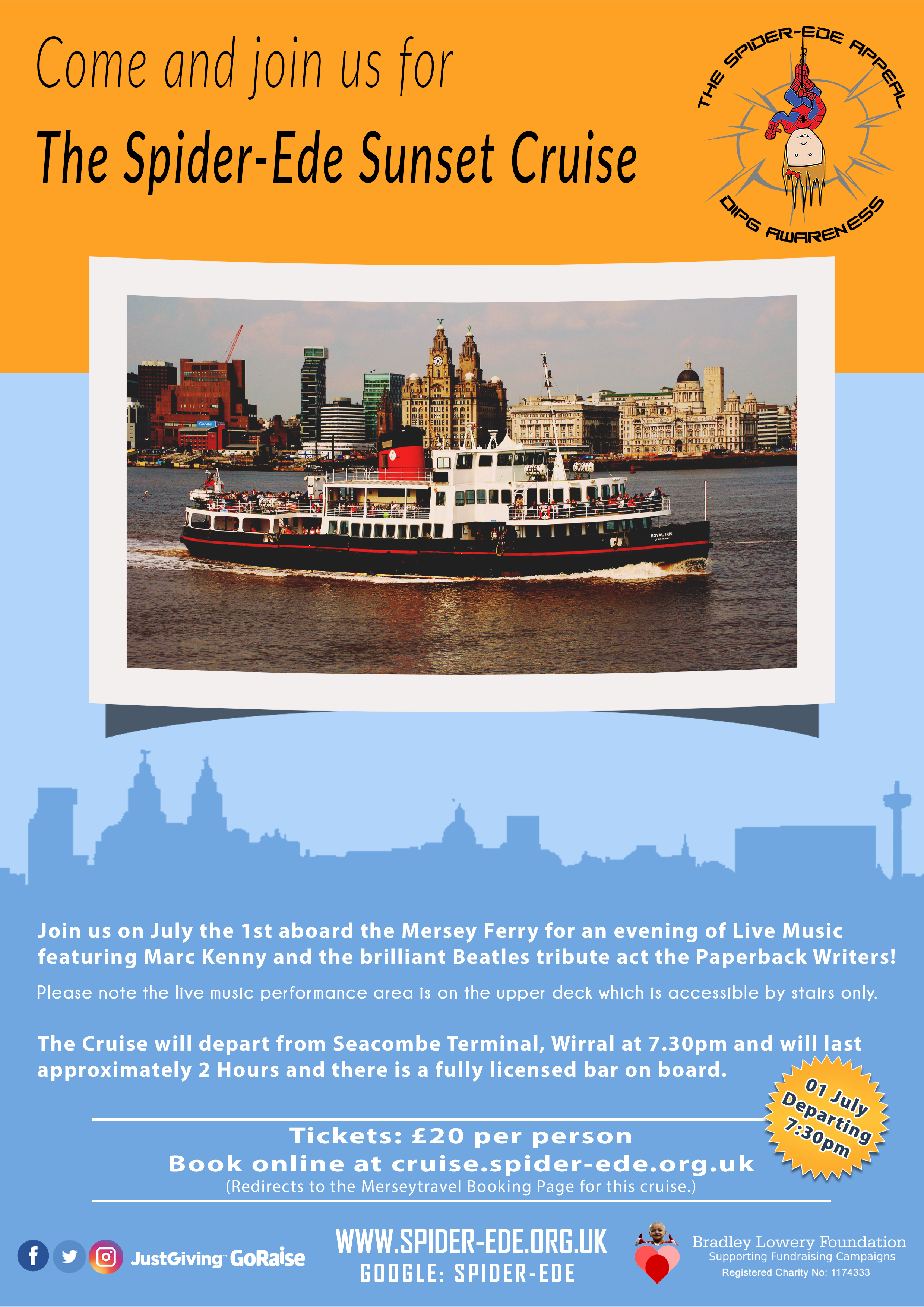 The Spider-Ede Sunset Cruise (Poster)