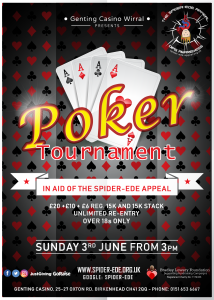 Genting Casino Poker Tournament for Spider-Ede
