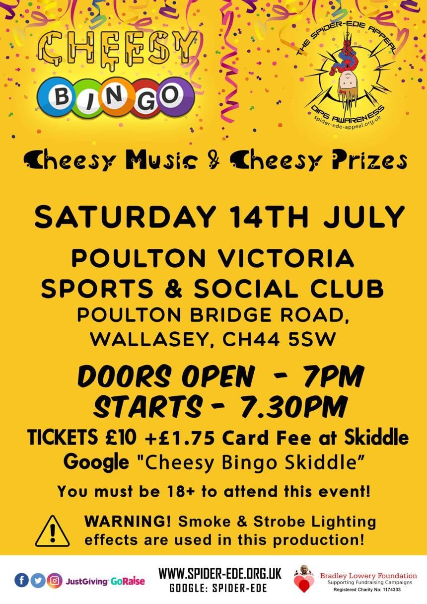 Cheesy Bingo, Cheesy Music and Cheesy Prizes