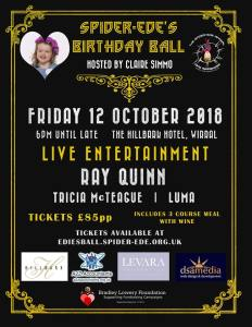 Spider-Ede's Birthday Ball - 12 October 2018