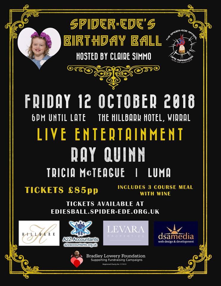 Spider-Ede's Birthday Ball - 12 October 2018