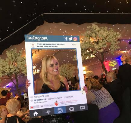 Claire Simmo - Spider Ede's Birthday Ball Host