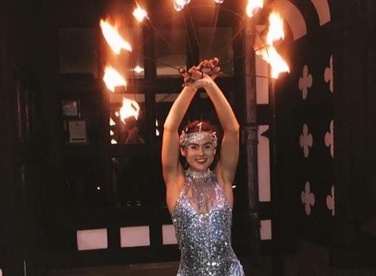 Fire Dancer - Spider-Ede's Birthday Ball