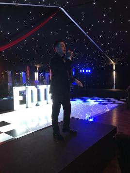Ray Quinn Singing - Spider-Ede's Birthday Ball